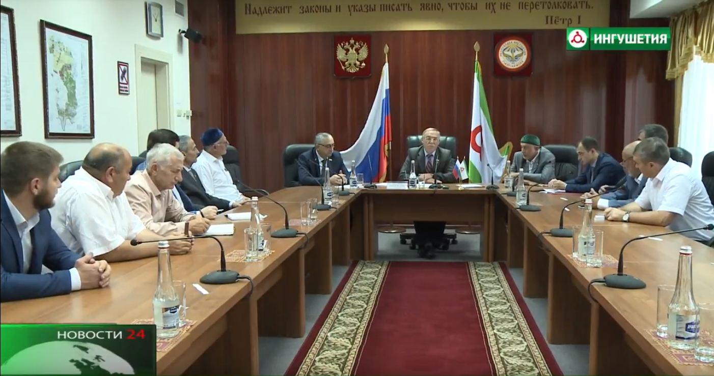 Заседание комитета Народного Собрания Ингушетии .
