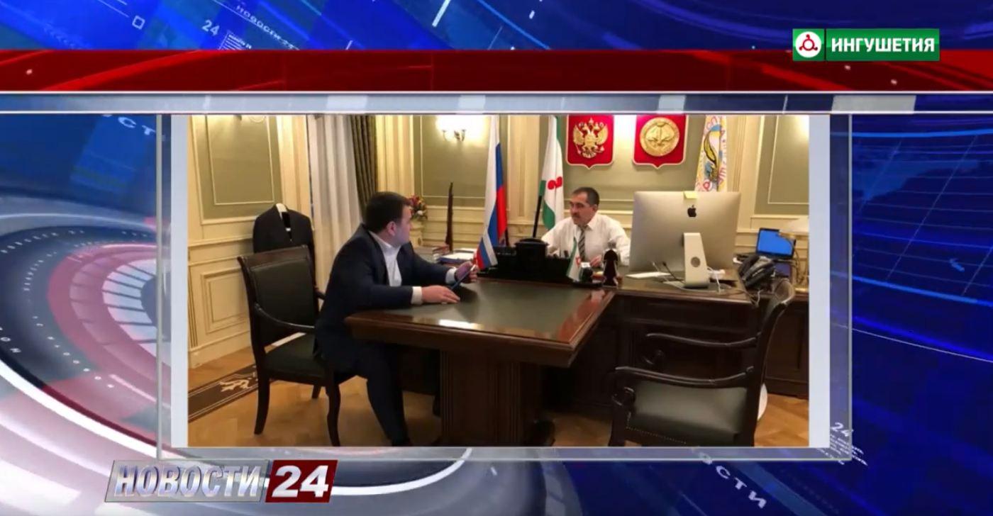 Алихан Цечоев доложил Евкурову о ситуации с исчезновением в Египте ингушских студентов.