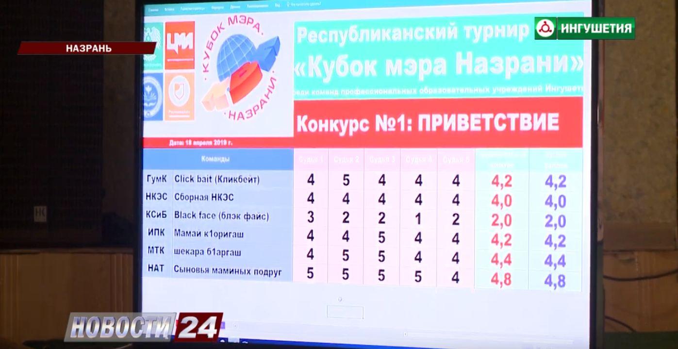 КВН на Кубок мэра Назрани.