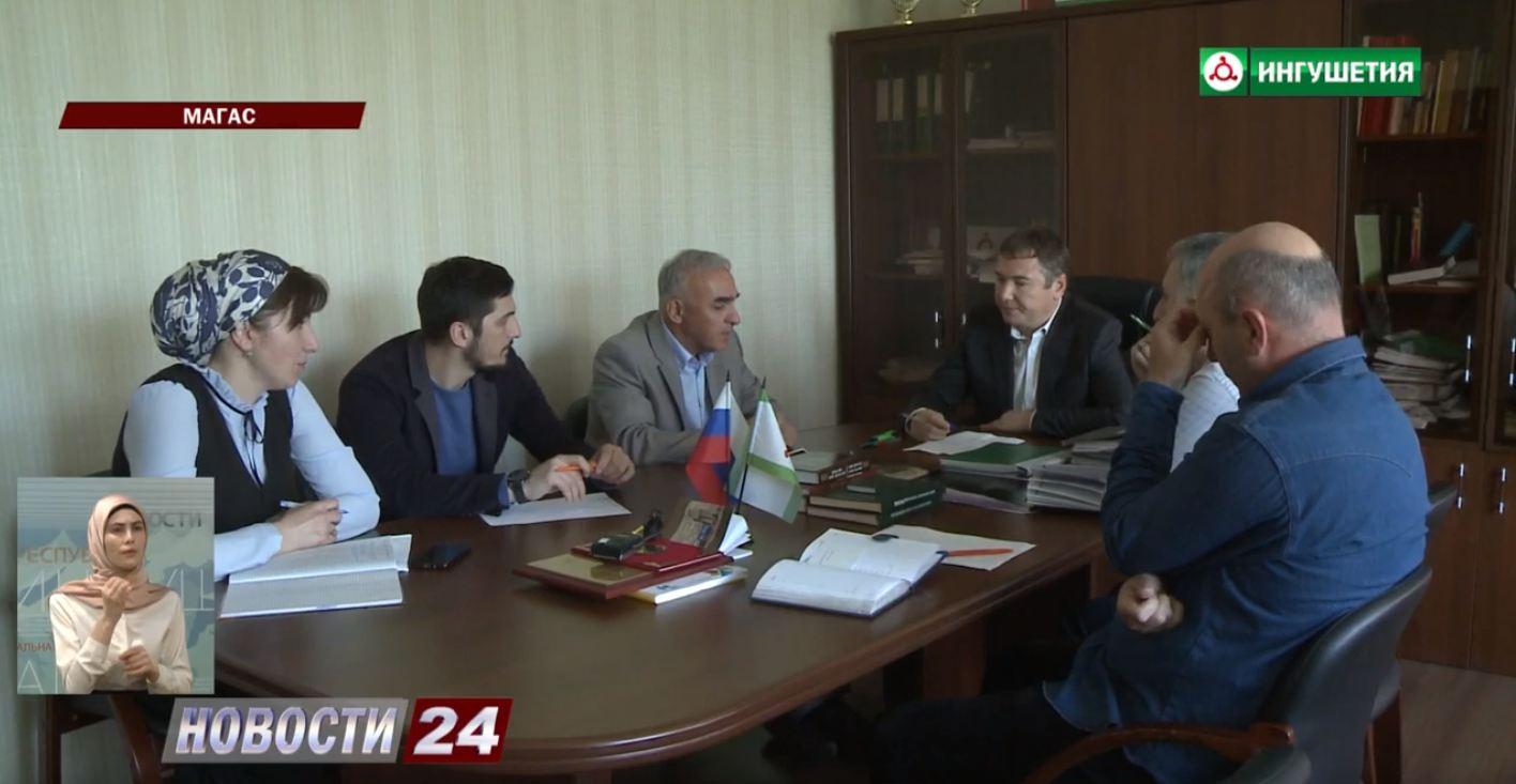 Освещение Национальных проектов в СМИ Ингушетии.