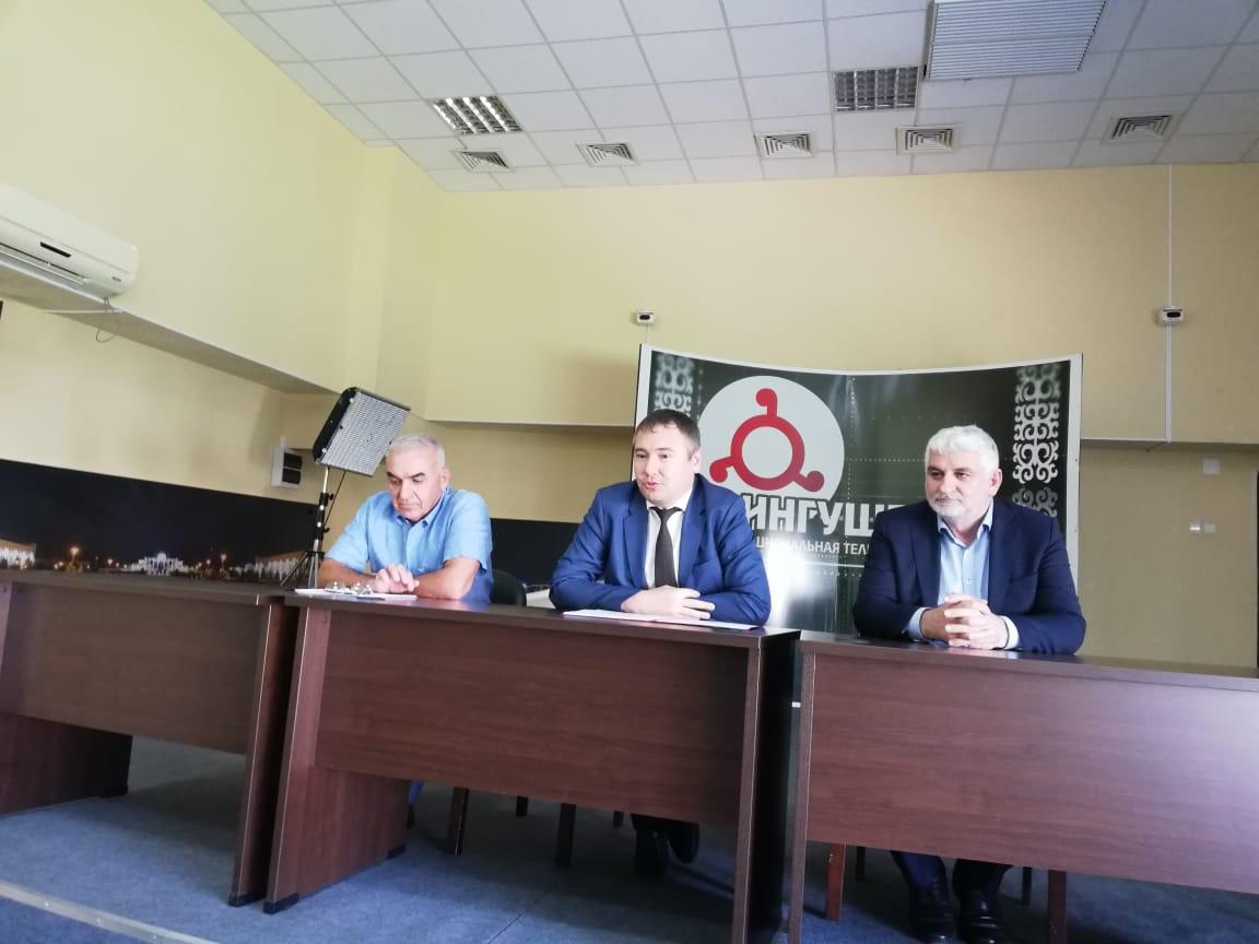 """Новым директором НТРК """"Ингушетия"""" стал Руслан Якубович Майсигов."""