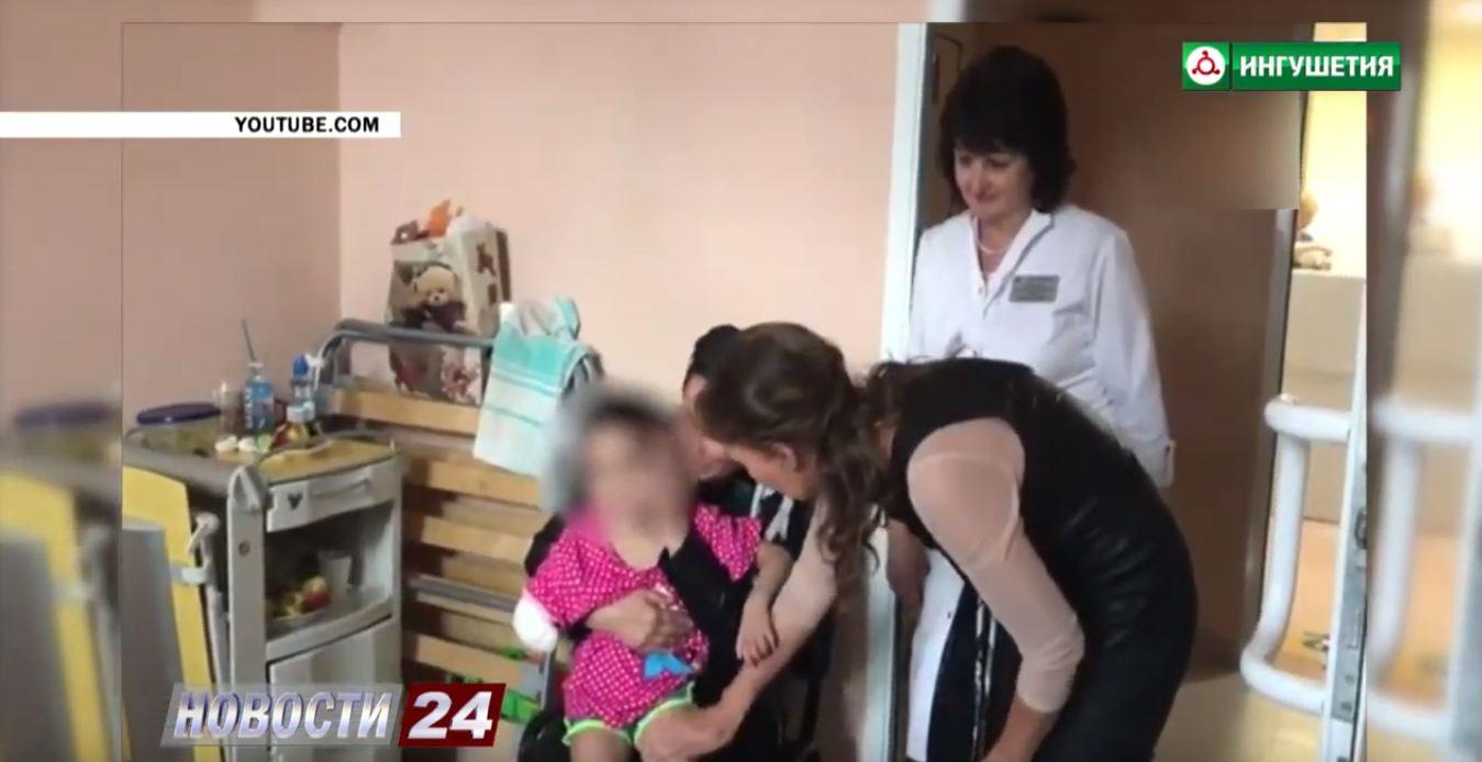 Аиша Ажигова встретилась со своей мамой.