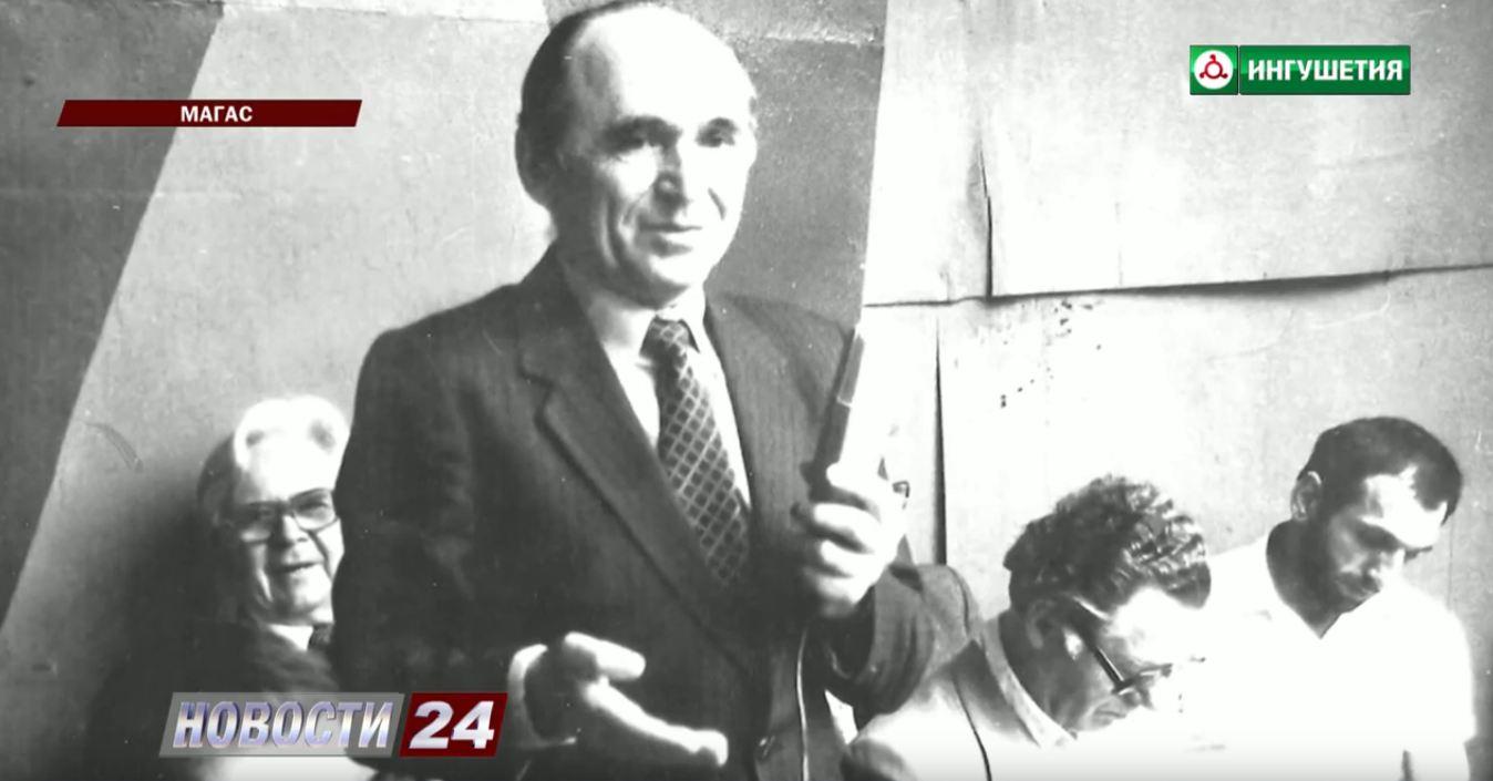В НИИ прошел семинар посвященный 95 – летию Ахмета Бокова.