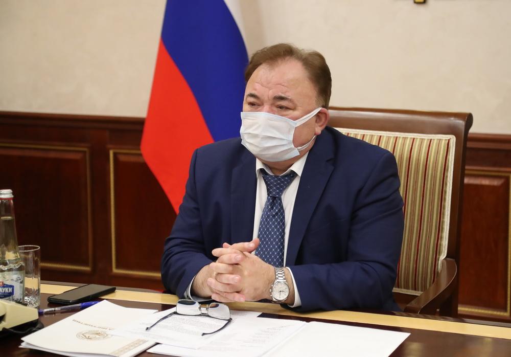 Махмуд-Али Калиматов принял участие в заседании Правительственной комиссии по региональному развитию в РФ.