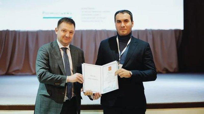 Руководителю Коммолодёжи Ингушетии вручили благодарственное письмо за подписью Президента России
