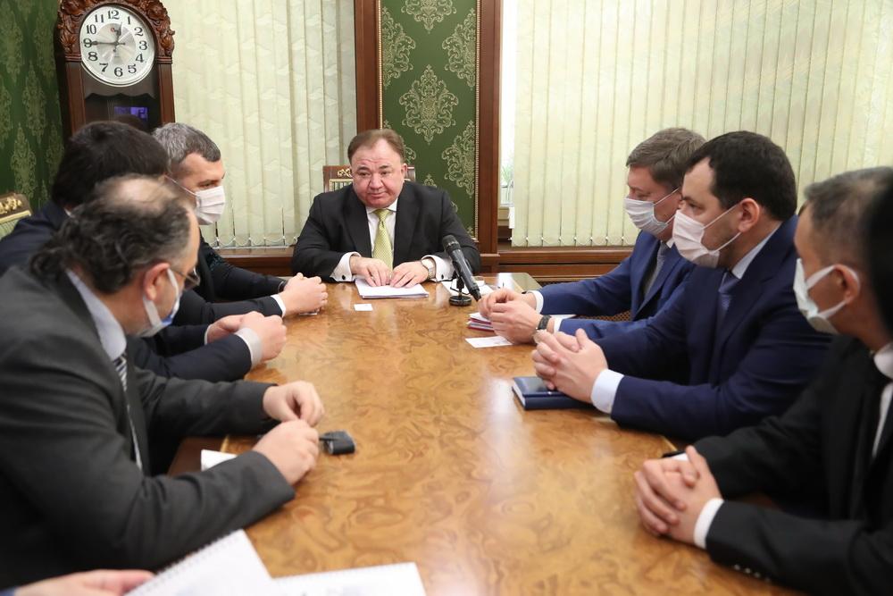 Турецкая компания изъявила намерение запустить в Ингушетии производство стройматериалов.
