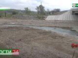 В  сельском поселении Барсуки завершены  берегоукрепительные работы на реке Сунжа.